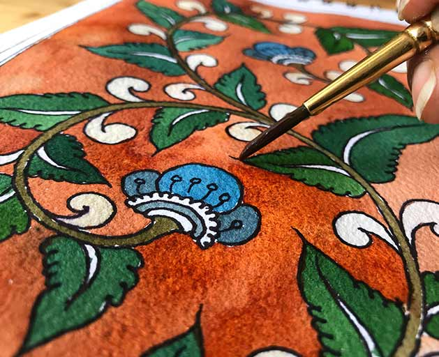 Specialization-in-Kalamkari-Painting---A-total-course-to-learn-kalamkari-painting