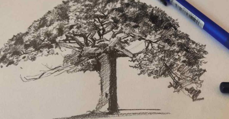Why is sketching known as the fundamentals of painting?