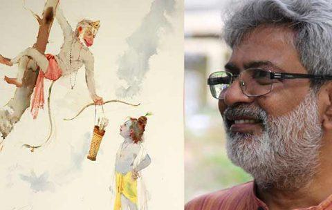 Conceptual-Watercolor-Painting-By-Artist-Vasudeo-Kamath | Pencil Tuts