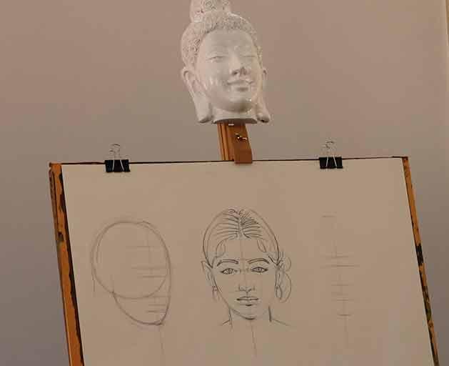 Head-Study-by-Artist-Elayaraja