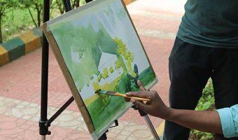 Watercolor-painting-demo-by-later-sadhu-aliyur